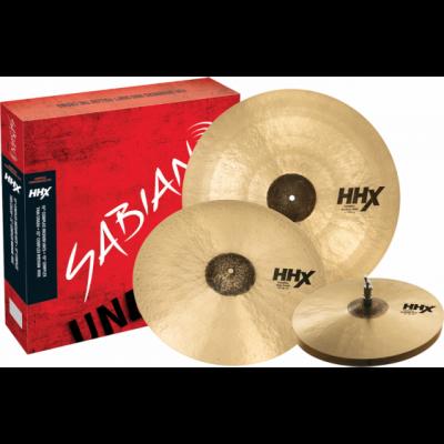 SABIAN HHX COMLPEX PERFORMANCE SET 15/19/22'' - zestaw talerzy perkusyjnych 15/19/22''
