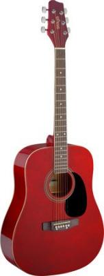 Stagg SA20D RED - gitara akustyczna