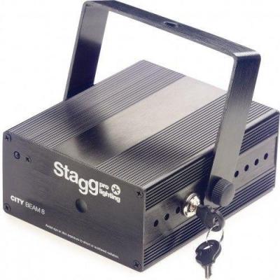 Stagg SLR CITY 8-2 BK DIM NETWORK - laser-2560