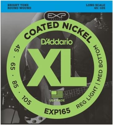 D'Addario EXP165 45-105 - struny do gitary basowej