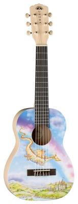 Luna Aurora v2 1/2 Nylon Dragon - gitara akustyczna 1/2-5401