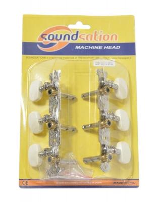 Soundsation SMH-SS-C-3R3L - klucze do gitary klasycznej-12694