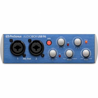 PreSonus AudioBox USB 96 - Interfejs Audio USB