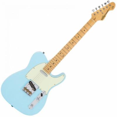 Vintage V75LB - Gitara Elektryczna Laguna Blue