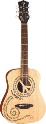 Luna Safari Peace - gitara akustyczna 3/4-2692