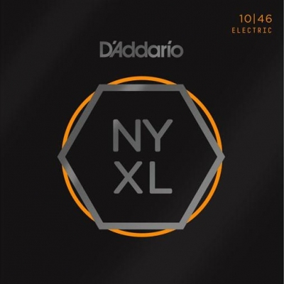 D'Addario NYXL 10-46 - struny do gitary elektrycznej