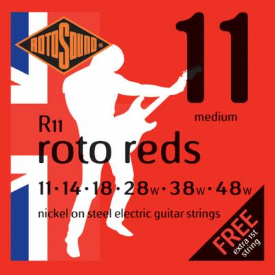 Rotosound R11 Medium [11-48] niklowane struny do gitary elektrycznej
