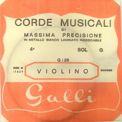 Galli G-026 - pojedyncza struna do skrzypiec G-4-6141
