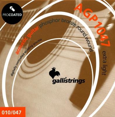 Galli AGP 1047 - struny do gitary akustycznej-2055