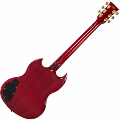 Vintage VS63CR - Electric Guitar Cherry Red