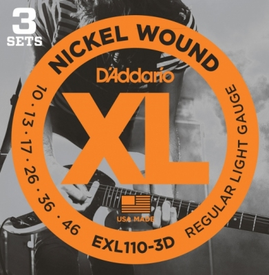 D'addario EXL110-3D ECO PACK 10-46