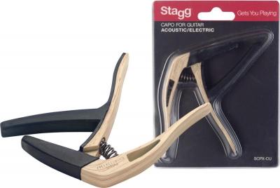 Stagg SCPX-CU CL - kapodaster do gitary-12760