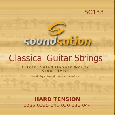 Soundsation SC133 Hard Tension - struny do gitary klasycznej-12553