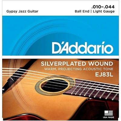 D'Addario EJ83L 10-44 - struny do gitary akustycznej